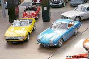 Ferrai and Lamborghini classic car collection for sale