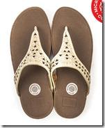 Fitflop Carmel rose gold sandal