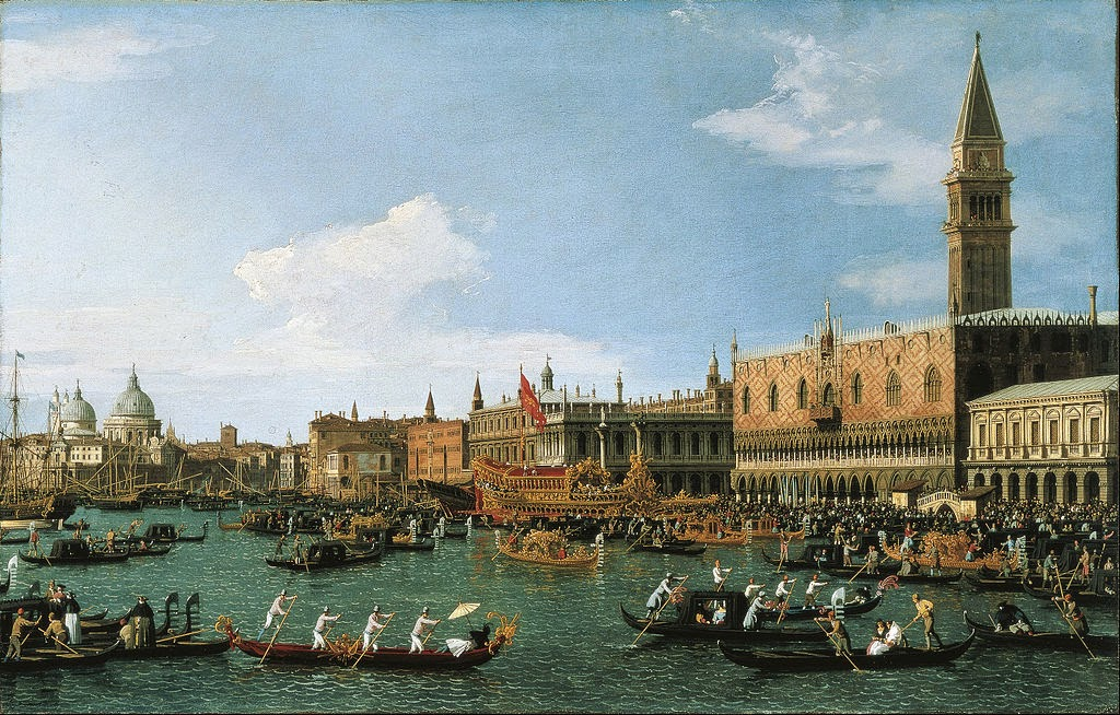 Canaletto - Return of 'Il Bucintoro' on Ascension Day