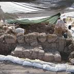 חפירה ארכיאולוגית באתר תל רכש Tel Rekhesh