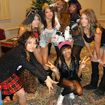the canada gyaru group at the anime north 2013 fashion show in Mississauga, Ontario, Canada