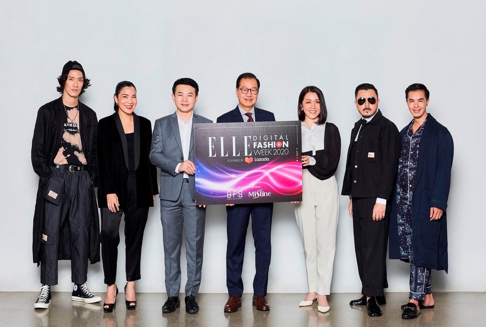 สัมผัสปรากฏการณ์แฟชั่นโฉมใหม่ครั้งแรกในเอเชียตะวันออกเฉียงใต้ลาซาด้าเสิร์ฟ Virtual Runway เต็มรูปแบบผ่านไลฟ์ กับ ELLE Digital Fashion Week 2020 Powered by Lazada