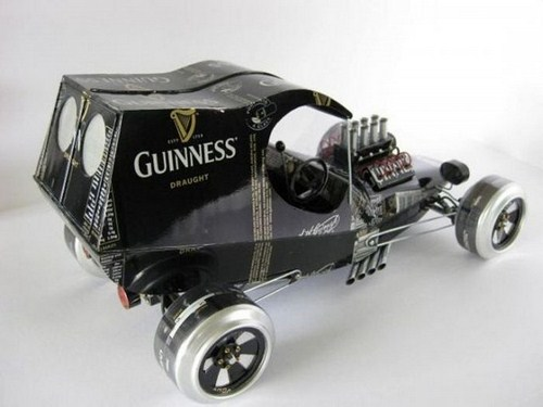 Amazing Cars From Beer Cans | Daily Updated Creative Art Pictures Seen On www.coolpicturegallery.us