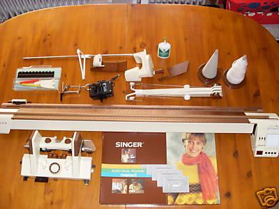 singer model 700 knitting machine