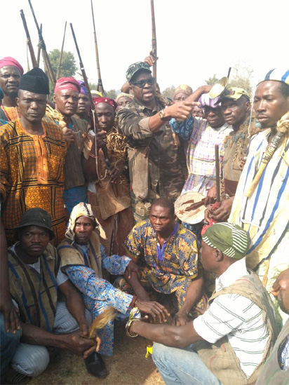Don't allow herdsmen kill our people; Fayose charges Ekiti hunters