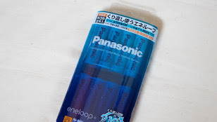 Panasonicロゴになったeneloop BK-3MCC/8