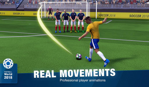 FreeKick Soccer 2018  gameplay | by HackJr.Pw 18