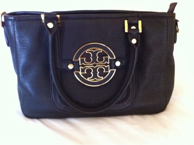 Black Tory Burch Mini Amanda