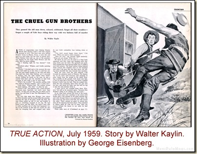 02 - TRUE ACTION - 1959 07 July - Walter Kaylin, art George Eisenberg