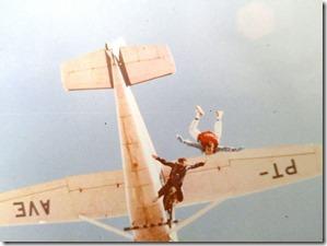 Saltando no espaço aéreo de Resende-RJ