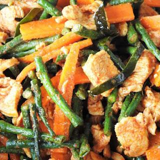 7 Ingredients Pad Prik Khing Recipe
