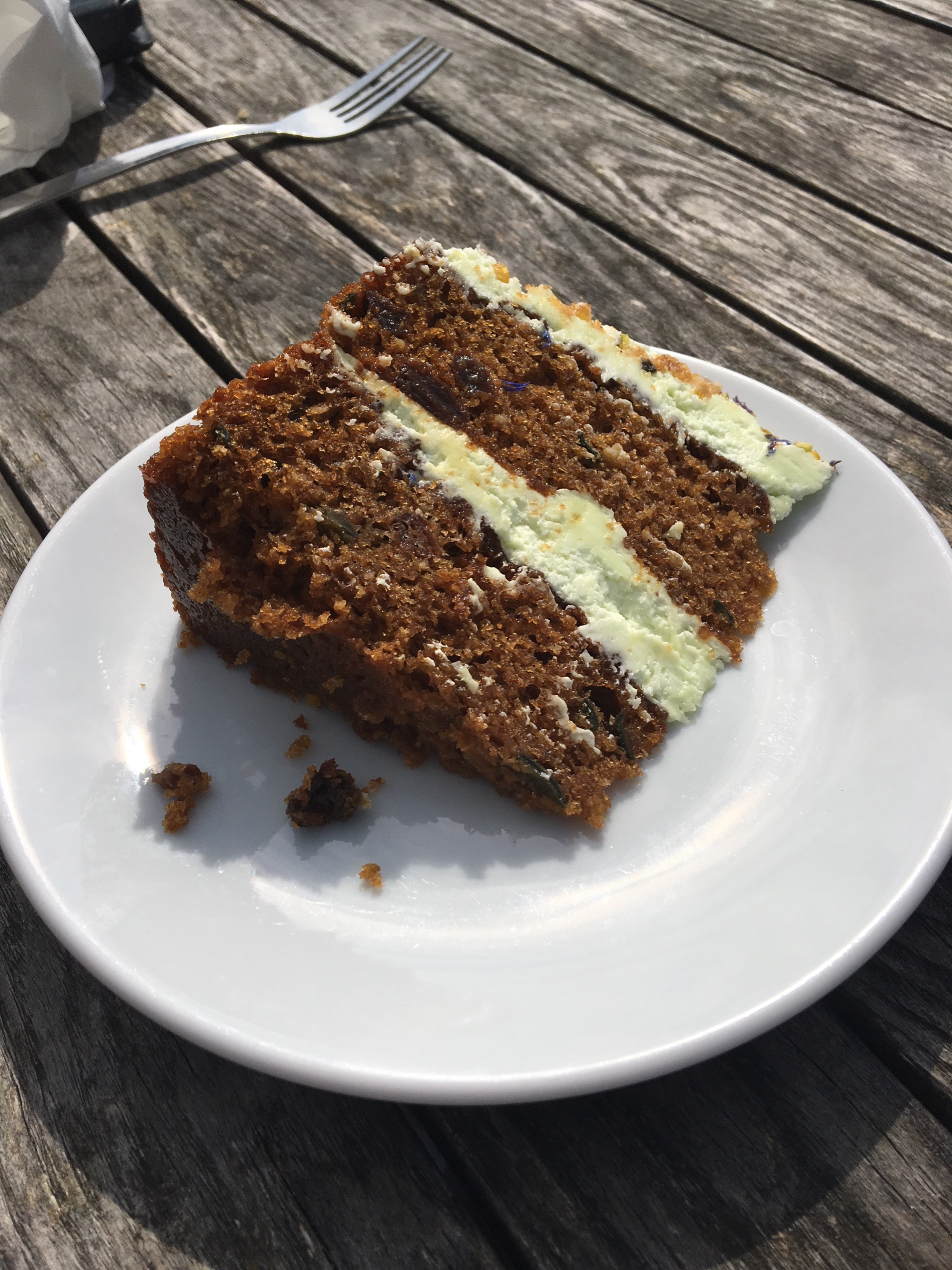 Courgette And Avocado Gluten Free Cake