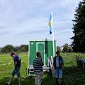 Blog-KSF-2013 / Erste Vorbereitungen im Zelt