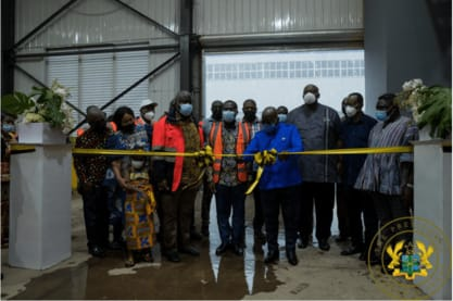 Akufo-Addo commissions phase II of Accra compost and recycling plant