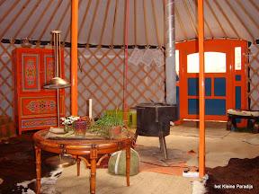 """""""Het kleine Paradijs"""" Yurt"""