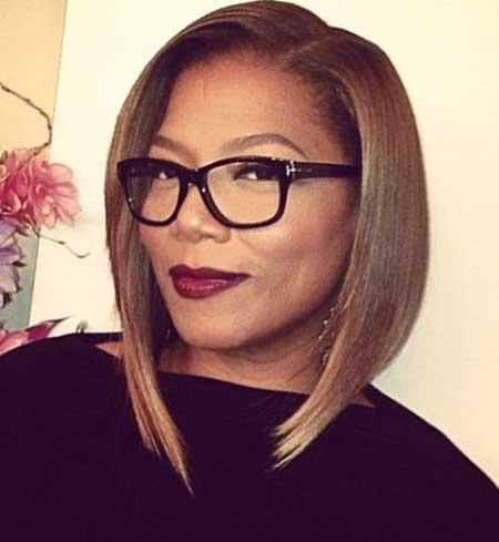 Inverted Bob Hairdo for Black Women | Fashion Qe