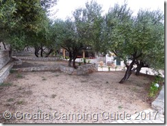 Croatia Camping Guide - Camp Kanić Restaurant & Olive Trees