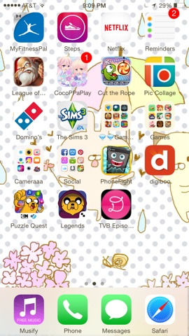 A dose of sweetness: Xixi's Blog : What is on my iPhone 6?
