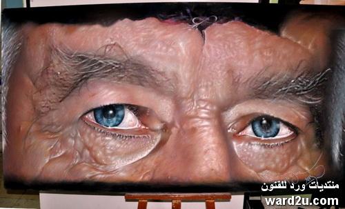 بورتريهات واقعية بالباستيل Mustafa yuce