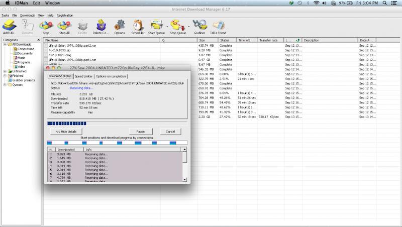 idm for mac os x 10.5.8