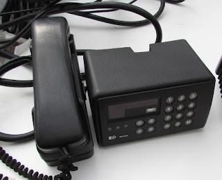 PYE M4000 RAIDOPHONE Control unit and handset
