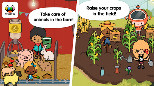 Screenshot for Toca Life: Farm in Hong Kong Play Store