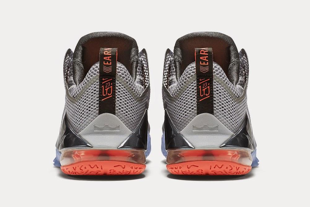 17604b38f7033 ... Upcoming Nike LeBron XII Low 8211 Wolf Grey amp Hot Lava ...