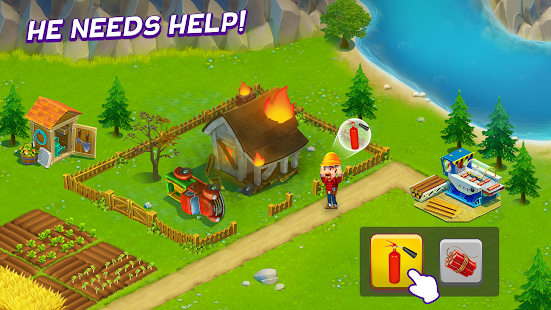 Game Golden Farm : Idle Farming Game APK for Windows Phone