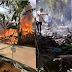 Usai Shalat Jumat 2 Rumah Warga Nyalindung Hangus Terbakar