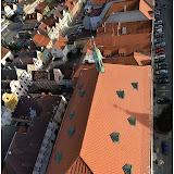 Arciděkanský kostel po opravě krovu a střechy