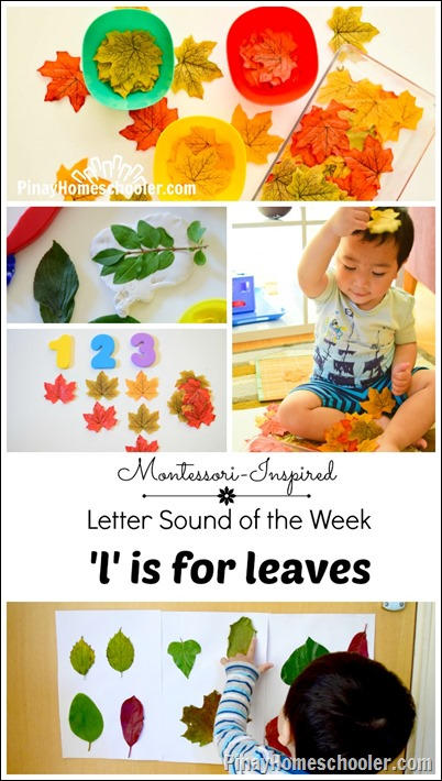 Letter L: Leaf Activities in Autumn