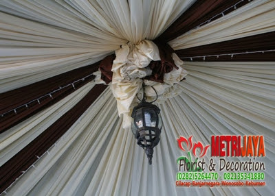 wedding decoration / dekorasi pengantin banjarnegara