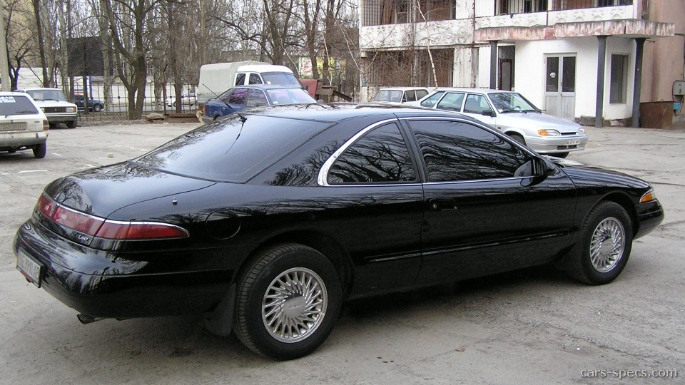 1994 lincoln mark viii coupe specifications pictures prices. Black Bedroom Furniture Sets. Home Design Ideas