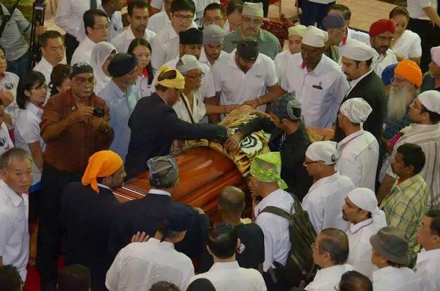 Gambar Sekitar Pengebumian Mendiang Karpal Singh Hari Ke 4