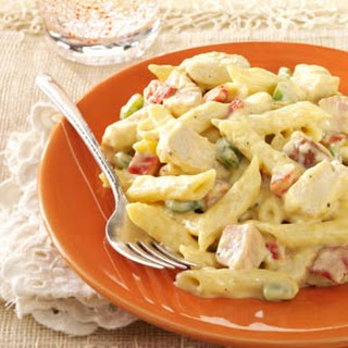 Chicken and Sausage Penne.