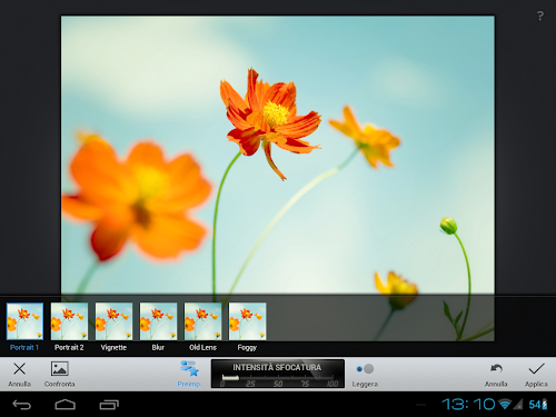 Snapseed su tablet Android