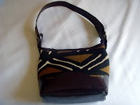 Leather Bag (Mud Cloth)