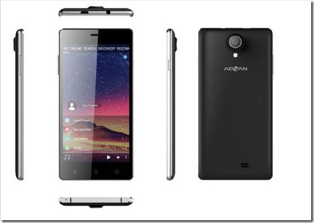 Advan Vandroid B5, Smartphone Lollipop dengan RAM 2GB