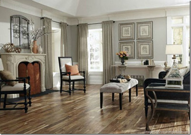 Acacia Wood Flooring Kitchen
