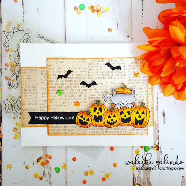 Happy Halloween by Waleska features Newton's Boo-tiful Night by Newton's Nook Designs; #newtonsnook