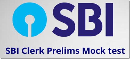 SBI Clerk Online Mock test 2018 Practice