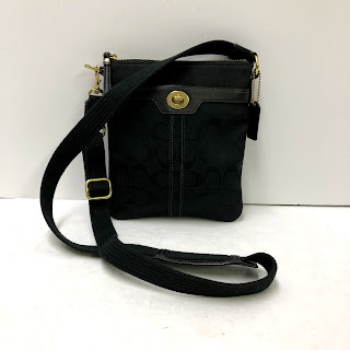 Coach Monogram Satchel