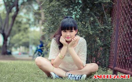 Hot girl Hoài Thiên xinh xắn dễ thương