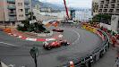Felipe Massa chasing Fernando Alonso in his F2012