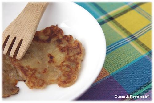 recette-bebe-12-mois-galette-de-banane