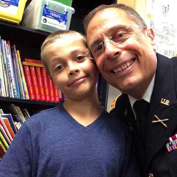 Veterans Day at school