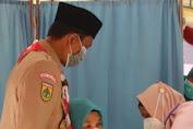 Ketua TP PKK Aceh Selatan Menjalani Vaksinasi Covid-19