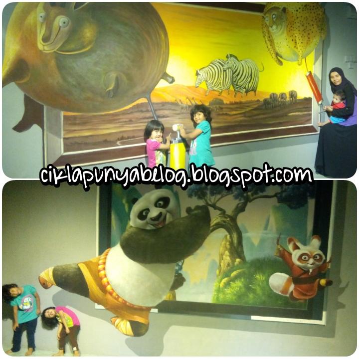 Kagumnya melihat keajaiban di Alive 3D Art Gallery.