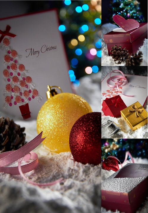 Stock Photo: Christmas gift 12