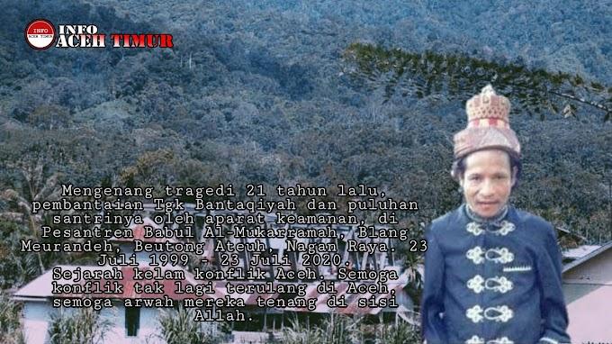 Teungku Bantaqiah dan Para Santri Dibunuh Militer
